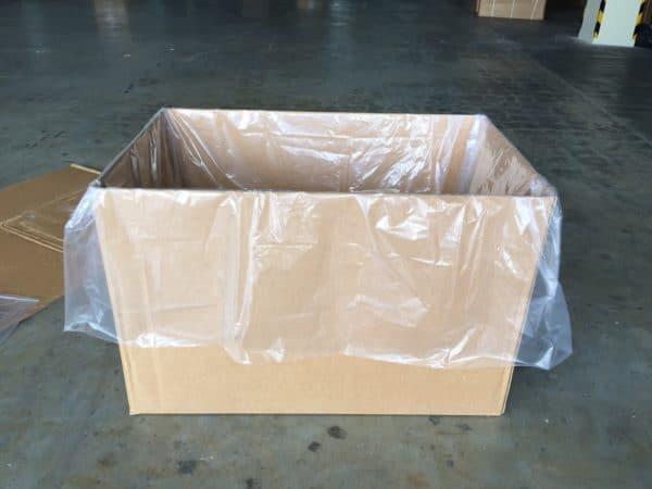 ถุงพลาสติกรองก้นกล่อง