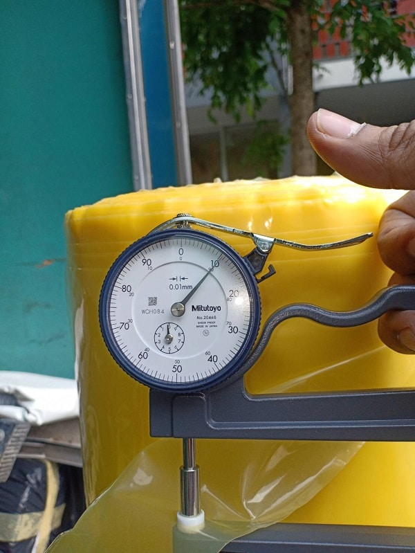 การวัดความหนาถุงพลาสติก